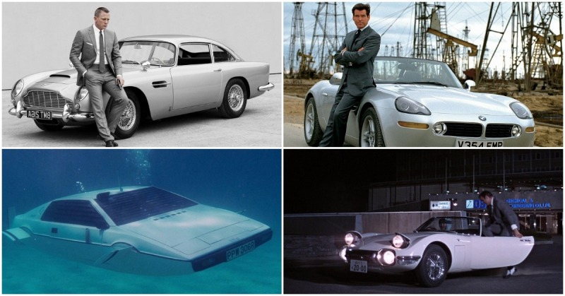 Legendary James Bond Cars
